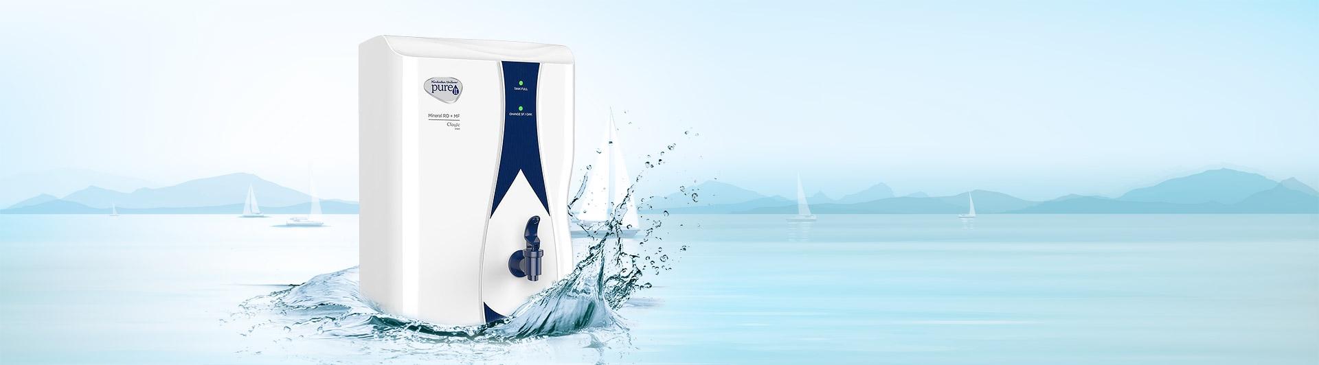 Máy lọc nước Unilever Pureit Casa Mineral RO+MF