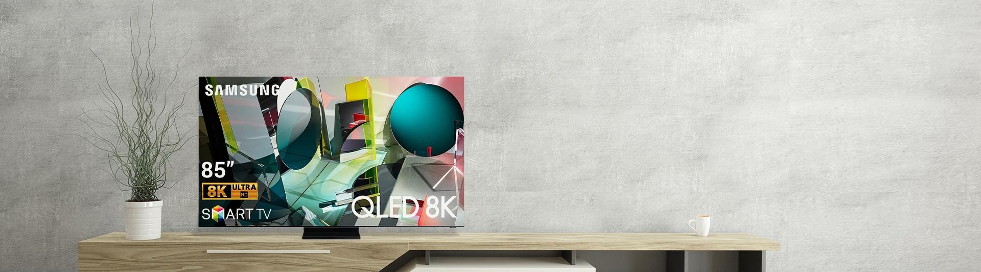 Smart Tivi QLED Samsung 8K 75 inch QA75Q950TSKXXV