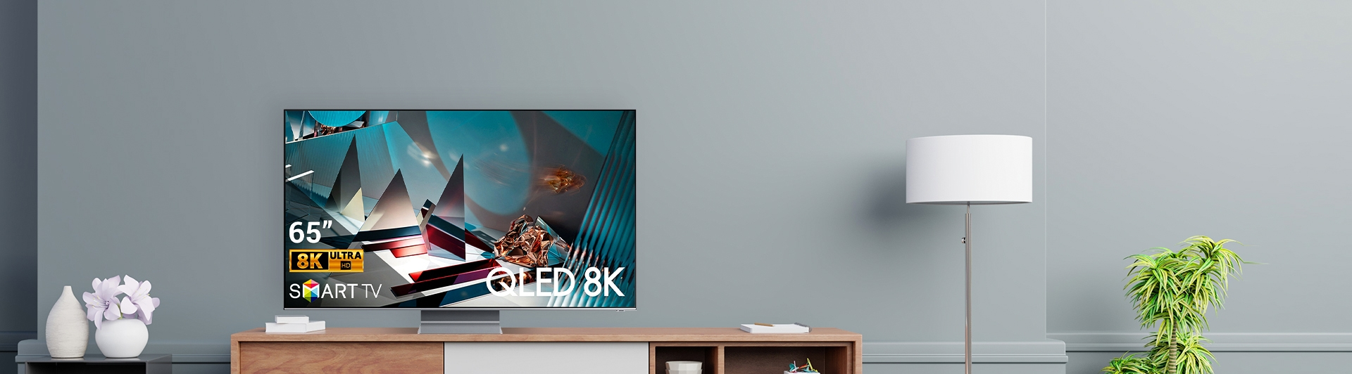 Smart Tivi QLED Samsung 8K 65 inch QA65Q800TAKXXV