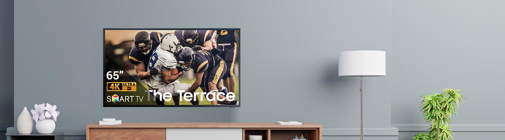Smart Tivi Ngoài Trời The Terrace Samsung 4K 75 inch LST7T 2020 QA75LST7TAKXXV