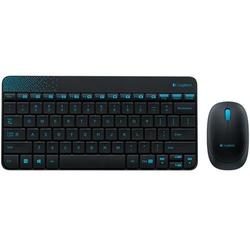 Bộ bàn phím và chuột Logitech MK240 màu đen, giá hấp dẫn tại Nguyễn Kim