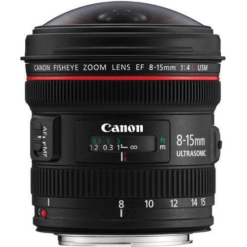 Ống kính mắt cá Canon EF 8-15MM F/4L USM chính hãng tại Nguyễn Kim