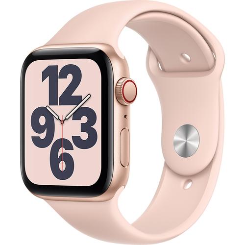 Apple Watch SE LTE 44mm Vỏ nhôm Dây cao su Hồng
