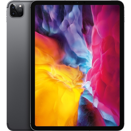 Máy tính bảng iPad Pro 11 inch Wifi Cell 128GB MY2V2ZA/A Xám 2020