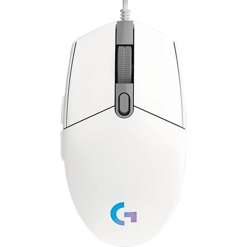 Chuột gaming Logitech G102 GEN2 Lightsync Trắng