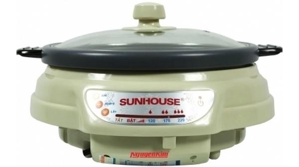 Mua lẩu điện Sunhouse SH535L 3.5 lít, giá rẻ tại Nguyễn Kim