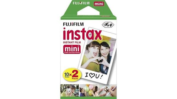 Phim máy ảnh Fuji Instant Color Mini 20 cao cấp, bền bỉ theo thời gian