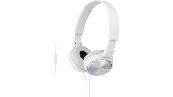 Tai nghe Sony MDR-ZX310AP/WCE trắng cho âm thanh chất lượng cao