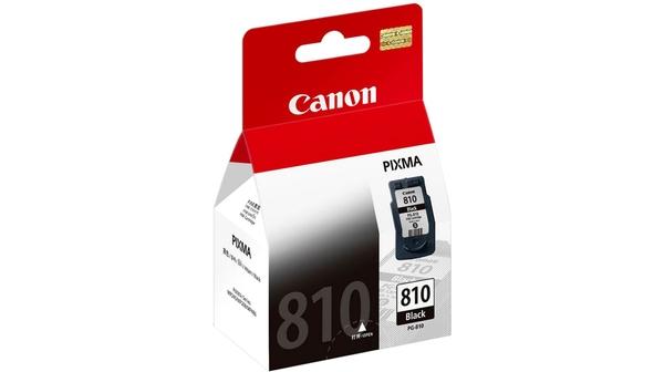Mực in phun Canon PG-810 đem lại những bản in chất lượng, sắc nét