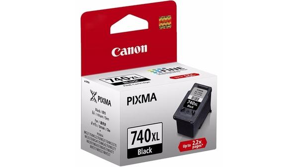 Mực in phun Canon PG-740 được làm từ chất liệu cao cấp, màu mực đẹp, bền màu