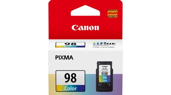 Mực in phun Canon CL-98 có màu in đẹp, bền màu