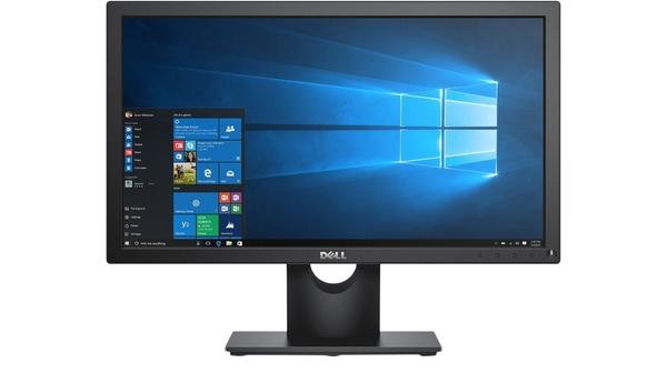 Màn hình Dell 19.5 inch E2016HV mặt chính diện