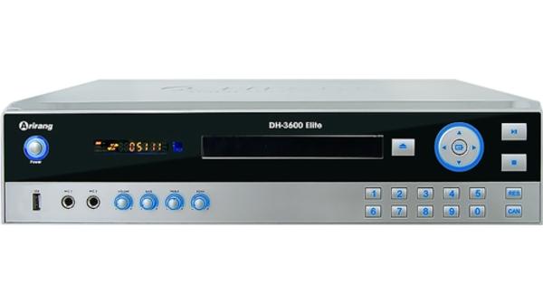 Đầu DVD KaraokeArirang DH-3600 Eliteđược thiết kế với kiểu dáng hiện đại,kích thước nhỏ gọn