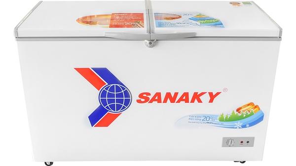 Tủ đông Sanaky 410 lít VH-5699HY mặt chính diện