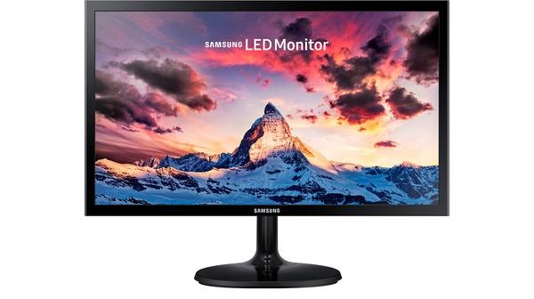 Màn hình Samsung 21.5 inch LS22F350FHEXXV mặt chính diện