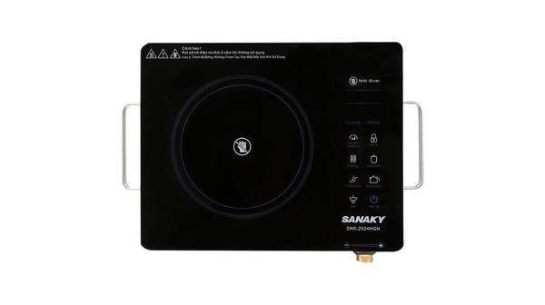 Bếp hồng ngoại Sanaky SNK 2524HGN mặt bếp