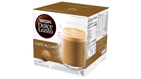 NESC- cà phê sữa Nescafe Dolce Gusto - Cafe Au Lait 160G thơm ngát, béo ngây và đắng đậm