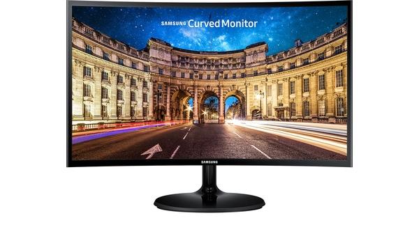 Màn hình Samsung 27 inch LC27F390FHEXXV mặt chính diện