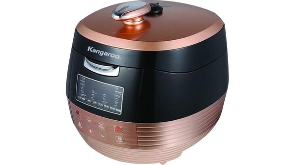 Nồi áp suất Kangaroo KG-289 thiết kế nắp đặc biệt kín hơi giúp giữ nguyên chất dinh dưỡng và hương vị của thức ăn