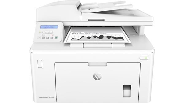 Máy in HP Laserjet Pro MFP M227SDN-G3Q74A mặt chính diện