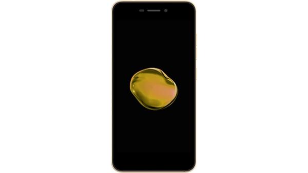 Điện thoại Mobiistar Lai Zoro 3 màu vàng giá rẻ tại Nguyễn Kim