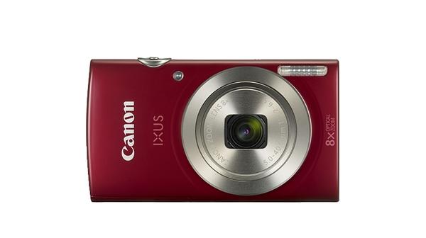 Máy ảnh Canon IXUS 185 Đỏ mặt chính diện