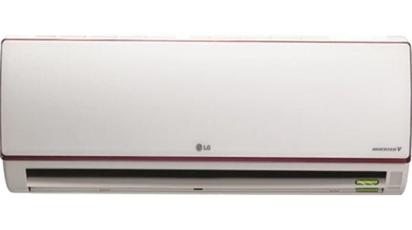 Máy lạnh LG Inverter V10APA mặt chính diện