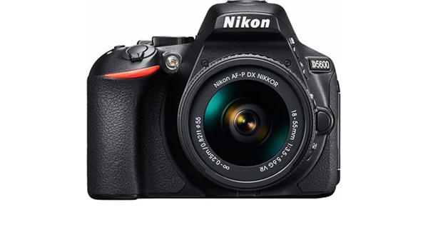 Máy ảnh Nikon DI.Camera D5600 có thiết kế hiện đại