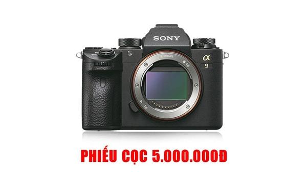 Máy ảnh KTS Sony ILCE A9 giá ưu đãi tại Nguyễn Kim
