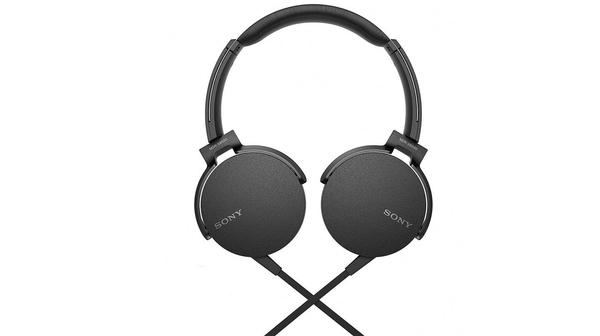 Tai nghe Sony - MDRXB550APBCE màu đen giá ưu đãi tại Nguyễn Kim