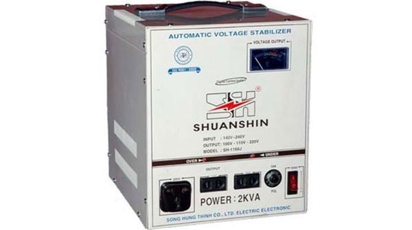 Ổn áp Shuanshin 2KVA SH-1168J công suất 2kvA giá rẻ tại Nguyễn Kim