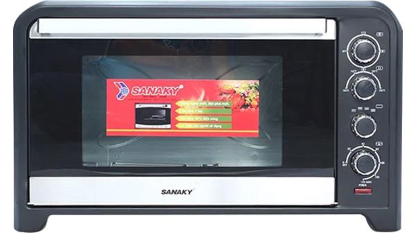 Lò nướng Sanaky VH-809NW 80 lít giá ưu đãi tại Nguyễn Kim