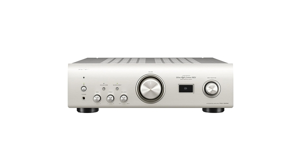 Amply Denon PMA 1600NE(1600NESPE2) thiết kế với màu trắng trang nhã