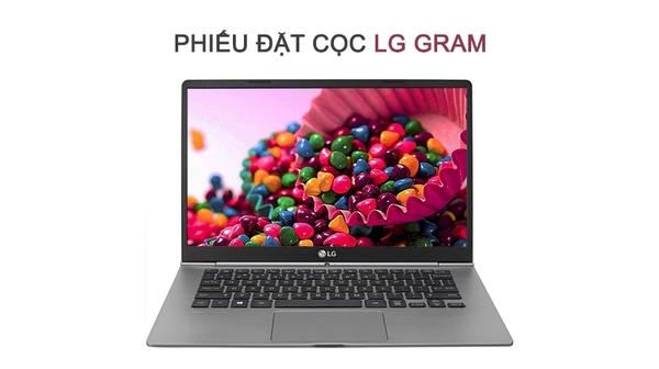 """Phiếu đặt cọc LG Gram 15"""" Z970-G giá ưu đãi tại Nguyễn Kim"""