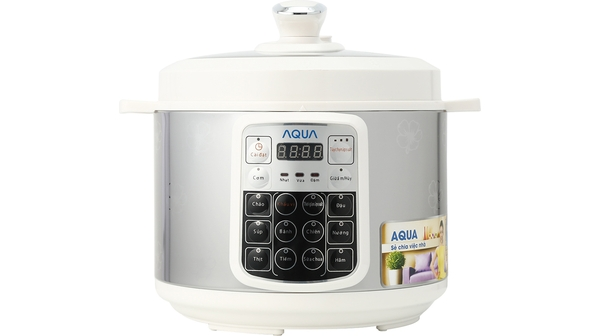 Nồi áp suất điện Aqua APC-50D 5L giá tốt tại Nguyễn Kim