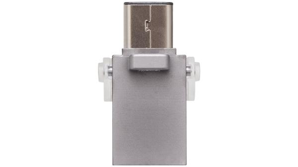 USB Kingston Microduo 3C 16GB (USB 3.1/USB Type C) sở hữu thiết kế nhỏ gọn, tiện dụng
