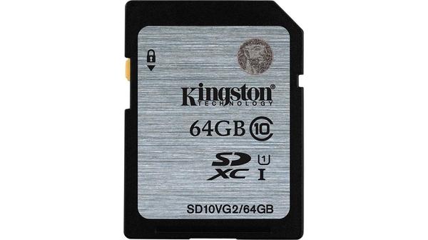 Thẻ nhớ Kingston 64GB SDHC Class 10 UHS-I SD10VG2 giá tốt tại Nguyễn Kim