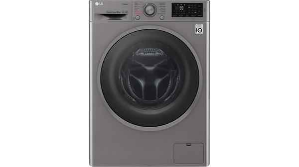 Máy giặt LG Inverter 8 kg FC1408S3E mặt chính diện