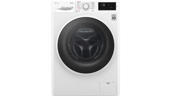Máy giặt LG Inverter 8 kg FC1408S4W2 mặt chính diện