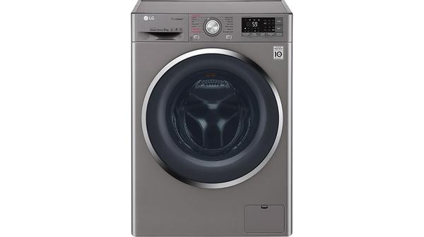 Máy giặt LG Inverter 9 kg FC1409S2E mặt chính diện