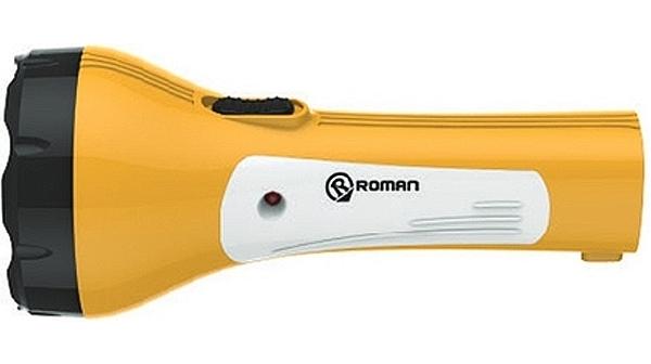 Đèn sạc Roman ELE2008Y có thiết kế nhỏ gọn, tiện dụng
