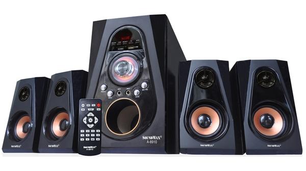 Loa vi tính Soundmax A-8910/4.1 có công suất hoạt động mạnh mẽ