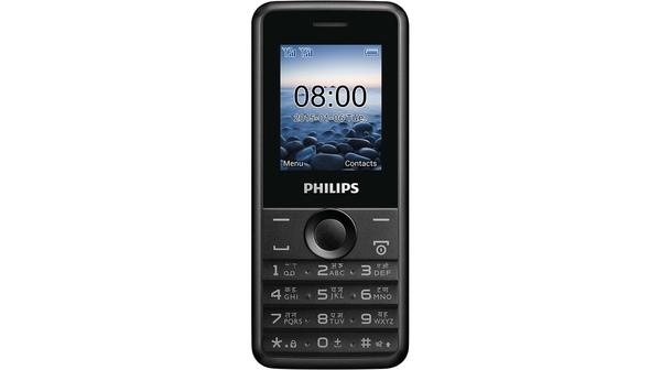 Điện thoại Philips E103 màu đen 2 sim giá tốt tại Nguyễn Kim
