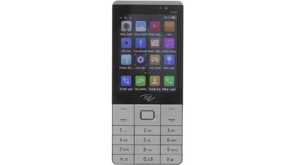 Điện thoại di động Itel IT7100, 2 sim màu xám giá tốt tại Nguyễn kim