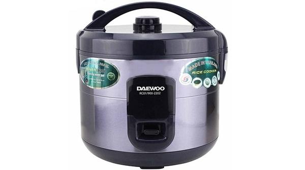 Nồi cơm điện Daewoo RC01/900-2202 có thiết kế hiện đại