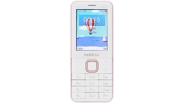 Điện thoại di động Mobiistar B242I vàng hồng giá rẻ tại Nguyễn Kim