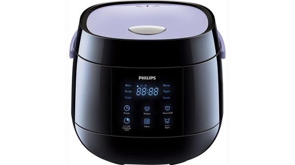 Nồi cơm điện Philips 0.7 lít HD3060 mặt chính diện