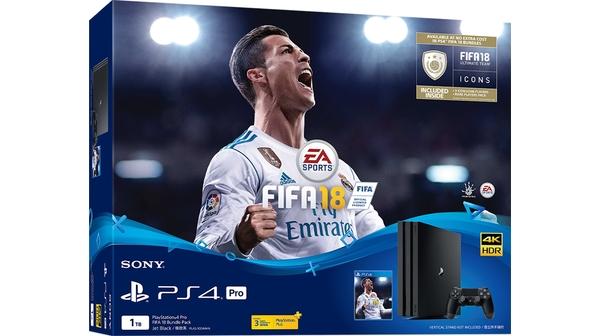 Máy chơi game Sony Playstation 4 Pro 1TB kèm đĩa game FIFA18 chính hãng