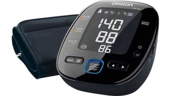 Đo huyết áp tự động Omron HEM-7280T màu đen giá rẻ tại Nguyễn Kim
