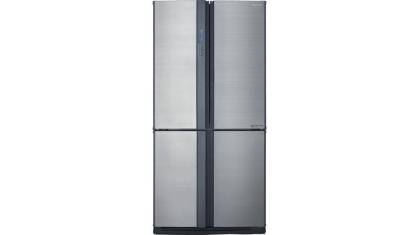 Tủ lạnh Sharp Inverter 678 lít SJ-FX680V-ST mặt chính diện